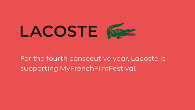My French Film Festival Official Partner LaCoste