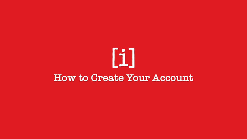 How to Create your Accout
