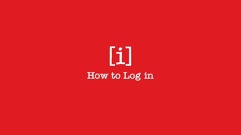 How to Log In