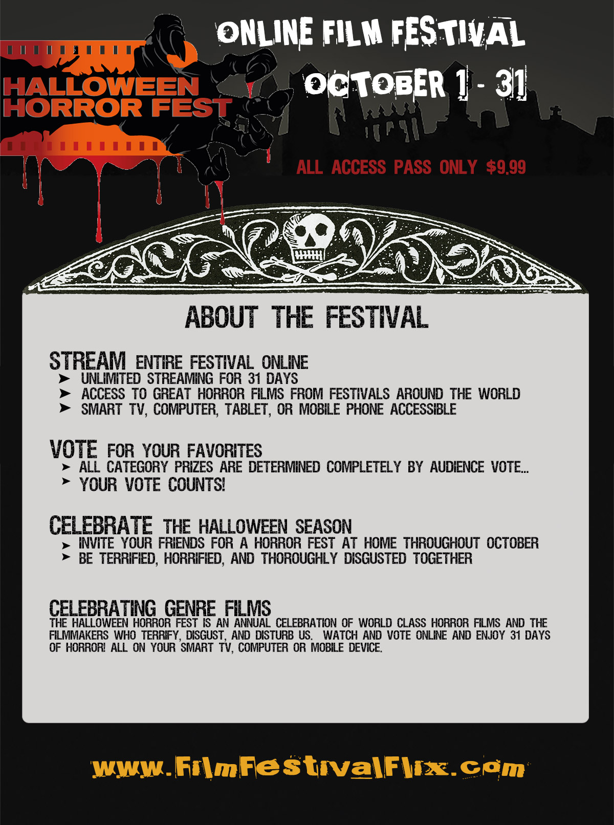 About the 2016 Halloween Horror Fest